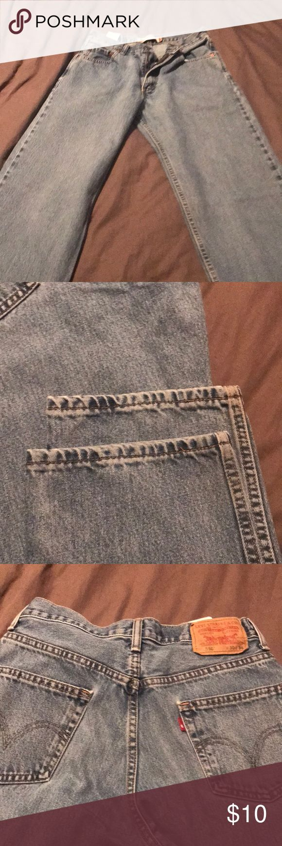 Levi's jeans 550 Up for sale is a pair of Levi's 550 in good condition 30 x 36 Levi's Jeans Relaxed