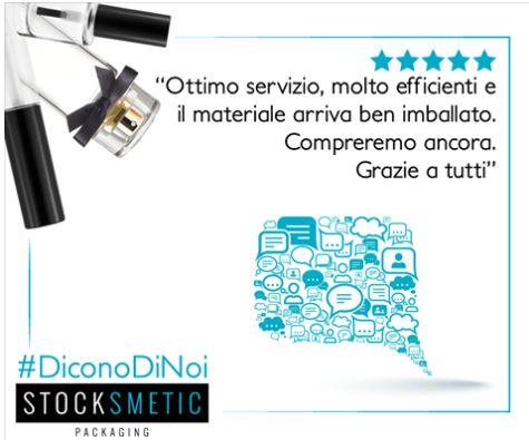 💬🛒📦 Ascoltare i vostri commenti aiuta a migliorarci per offrirvi ogni giorno un servizio migliore.   #DiconoDiNoi #StocksmeticPackaging