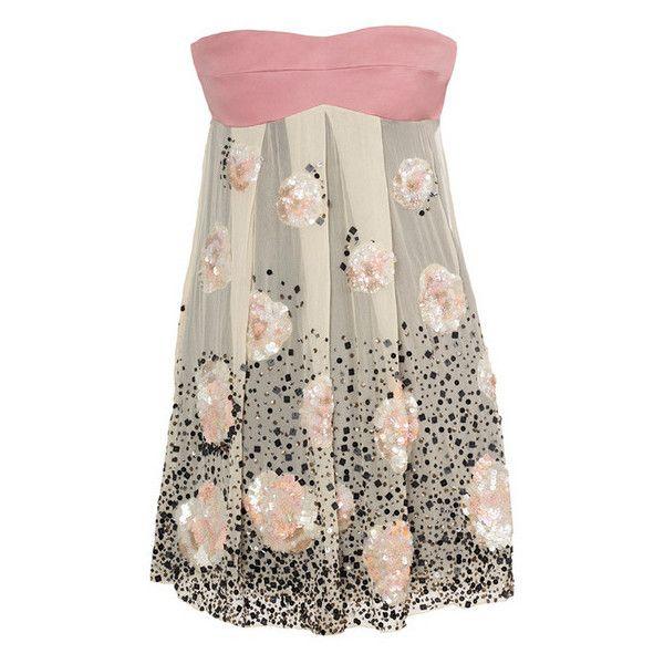 Стильные платья, модные платья 2009, где купить платья, фото и цены -... ❤ liked on Polyvore featuring dresses, vestidos and brown dresses