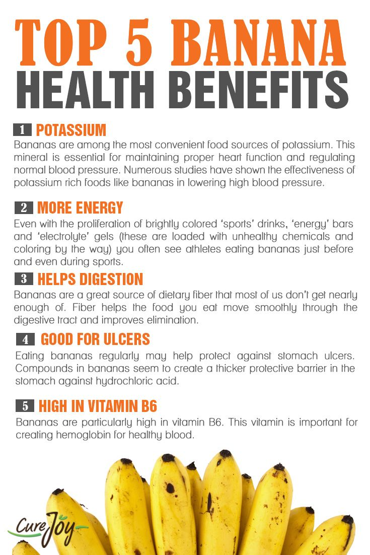 Ba-na-na-na Benefits #healthy #energy