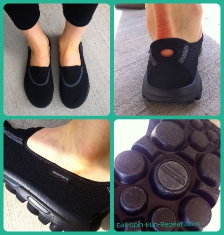 Skechers GOwalks - so comfy! They're my new between-home-and-the-gym-shoe. @SKECHERS USA USA USA @skechers_canada