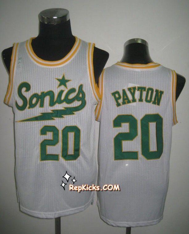 4efe8fb1d ... NBA Oklahoma City Thunder 20 PAYTON Jerseys-white ... NBA Dallas  Mavericks 6 Tyson Chandler White Revolution Jersey Mens ...