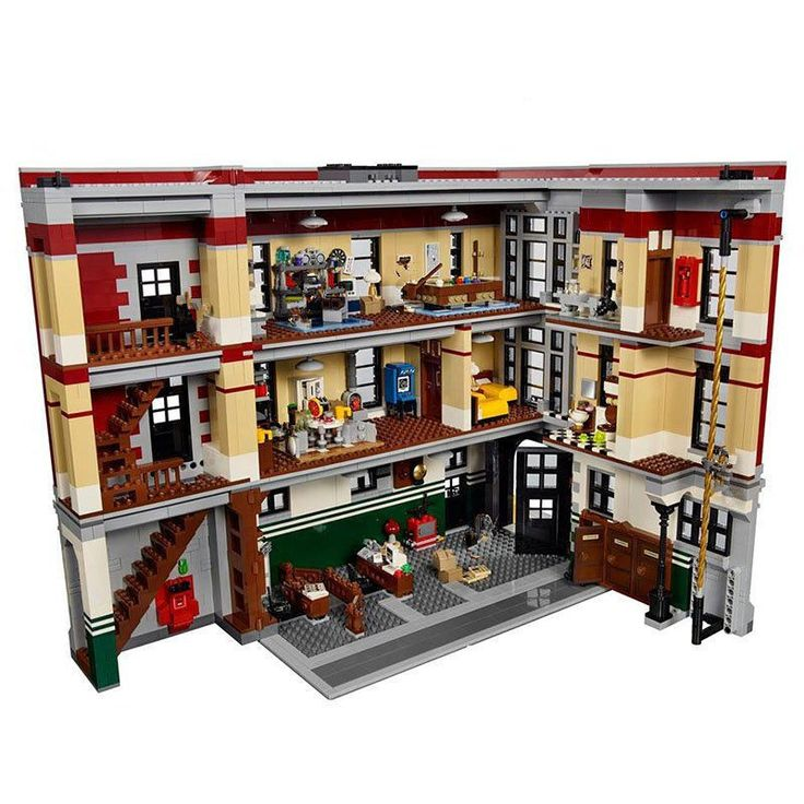 Ghostbusters Firehouse Headquarters Building Block Kit