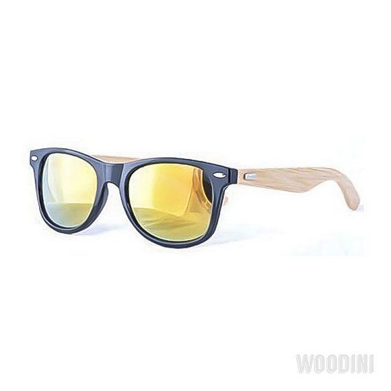 Orange Bamboo Sunglasses Handmade Sunglasses by WoodiniSunglasses