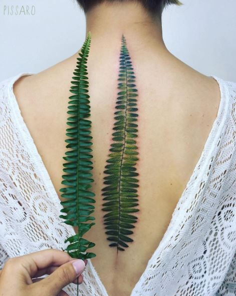 Perfect Fern Tattoo