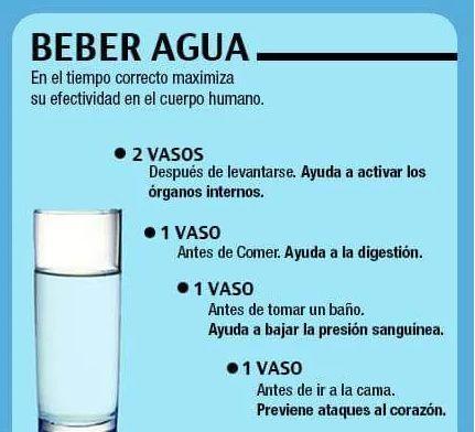 Por todos es sabido los beneficios de beber agua, pero hacerlo en determinados momentos del día, los incrementa.