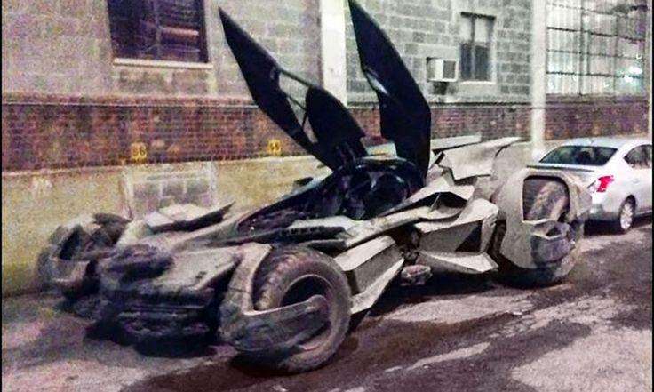 Batman y su nuevo 'tanque'