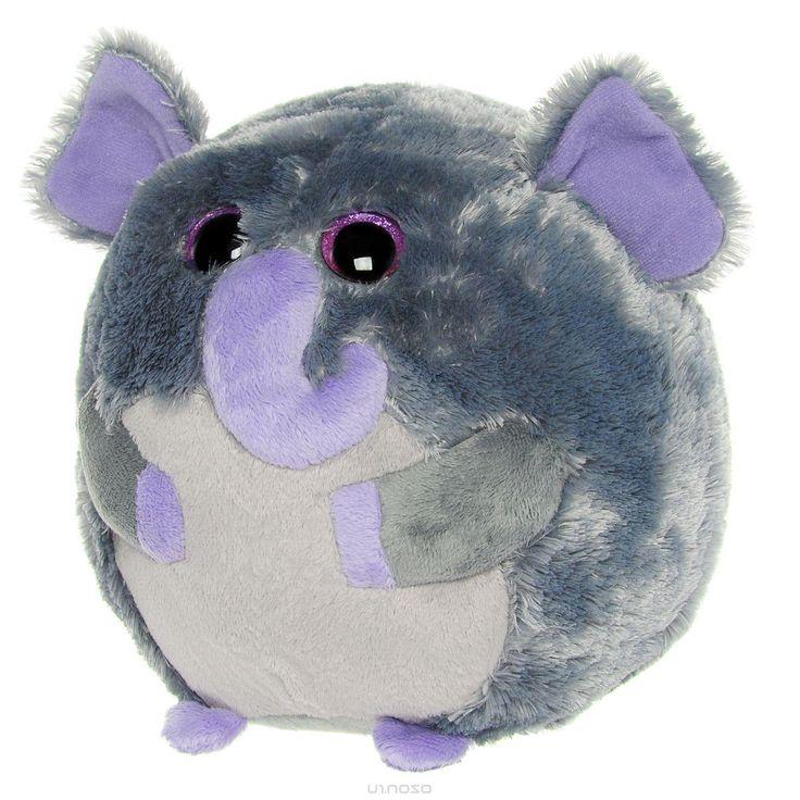 Мягкая игрушка Beanie Ballz Слон Thunder, 20 см