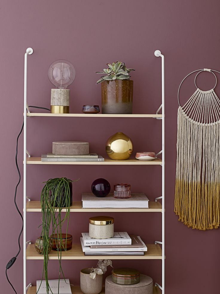 Chloe shelf holds all your favorites in one place <3 Design by Bloomingville