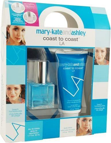 Mary-kate & Ashley By Mary Kate And Ashley For Women. Set-coast To Coast La Beach Honeysuckle Eau De Toilette Spray 1.7-Ounce & Body Lotion 4-Ounce by Mary Kate and Ashley. $16.99. This item is not for sale in Catalina Island. Packaging for this product may vary from that shown in the image above. Launched by the design house of Mary Kate and Ashley.. Save 40%!