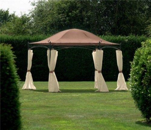 Replacement-Spare-Canopy-for-Camelot-Regency-4m-Hexagonal-Patio-Gazebo-CAM0481