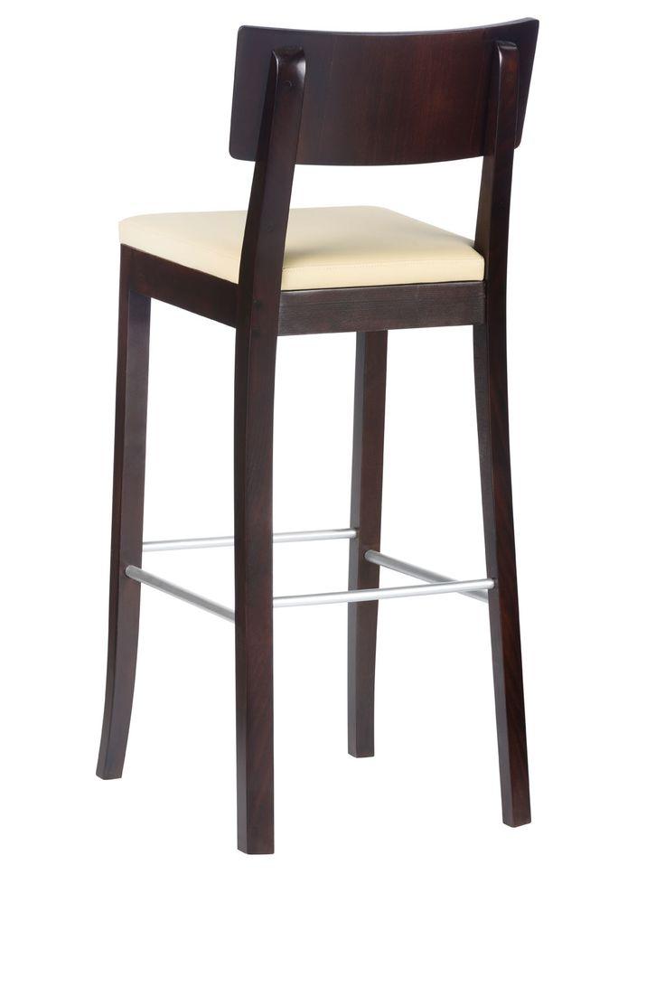 Modern, wooden, comfortable. Bar stool. #KloseFurniture #RestaurantFurniture #barstool