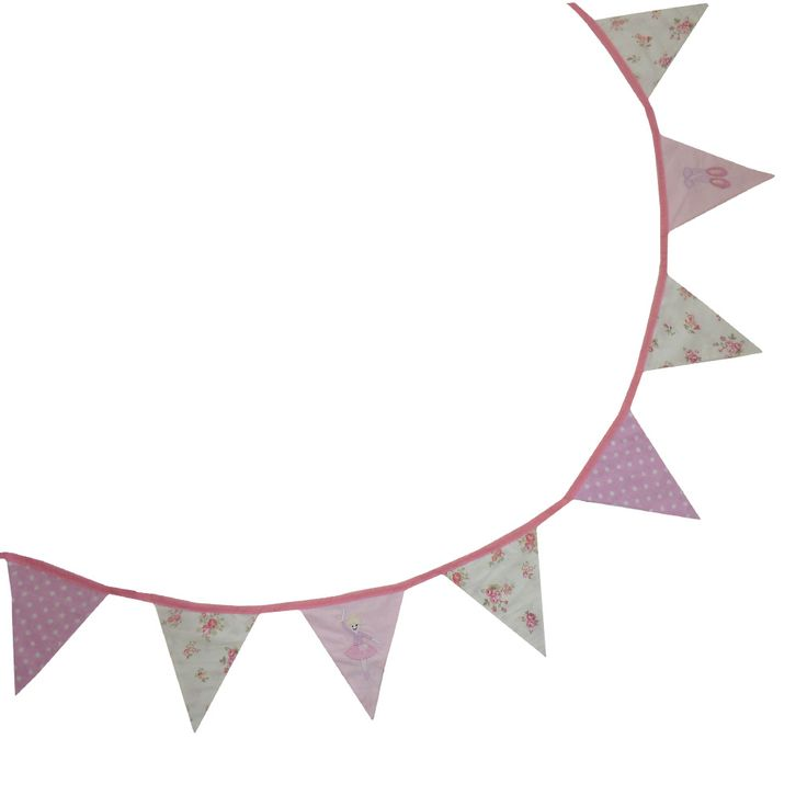 Ballerina Bunting from Powell Craft