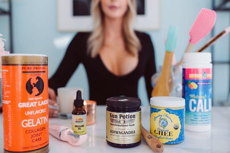 ::pantry essentials for healthy living: calm tea, ghee, gelatin, ashwagandha & oregano oil  | by the skinny confidential::