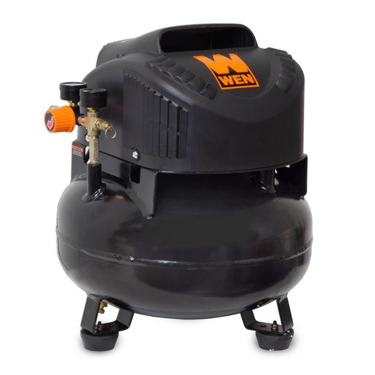 6 Gal. Oil-Free Pancake Electric Air Compressor