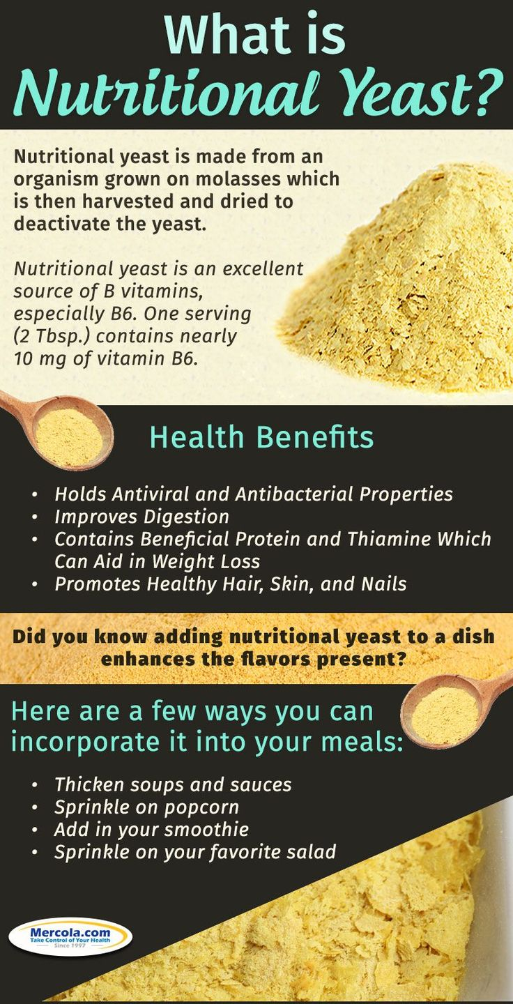 Discover how nutritional yeast is beneficial to your health. Nutritional yeast is widely regarded as a good source of B vitamins, including vitamin B12. #Nutrition,