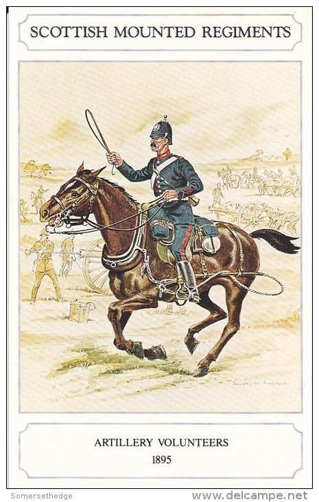Artillery Volunteers 1895 Uniform