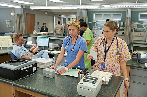 Nurse Jackie...love every character!