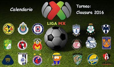 Blog de palma2mex : Calendario: Liga MX Torneo Clausura 2016
