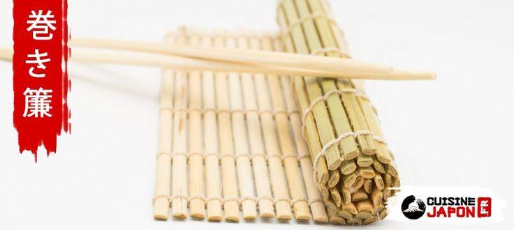 Besoin d'un ustensile pour rouler les sushi ? Voici le makisu, un tapis en bambou très pratique et qui prend peu de place, présentation : Qu'est-ce qu'un makisu ? Un makisu巻き簾 est une natte de forme rectangulaire en tiges debambou reliés par