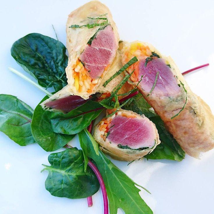 Finger de thon frais aux le croquants..... #menubistronomique #gourmandcroquant #thon #tuna #atun #produitfrais #cuisinedumarché #Food #Foodista #PornFood #Cuisine #Yummy #Cooking