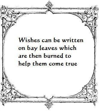 Wishes can also be written on paper, then burnt.  A wish can be for yourself or for another person.  Keep positive, and wish no harm on anybody!