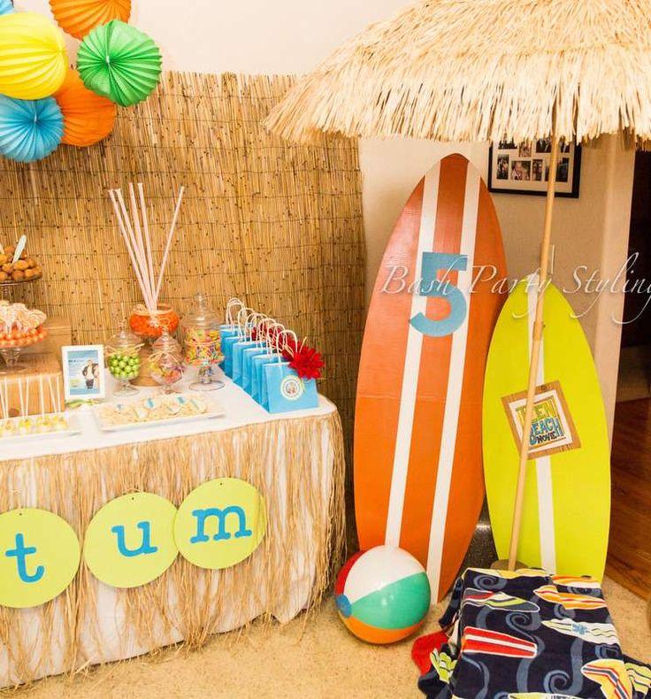Teen Beach Movie Birthday Party Ideas | Photo 1 of 19 | Catch My Party
