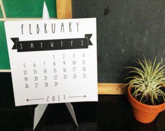 Calendario de escritorio geométrica de 2017 con por paper4download