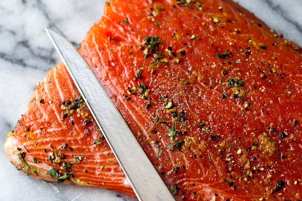 To make with people who like salmon, unlike my family - Hannah's Christmas party?
