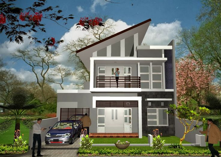 House Minimalist Design minimalist house design level two | desain rumah minimalis dua