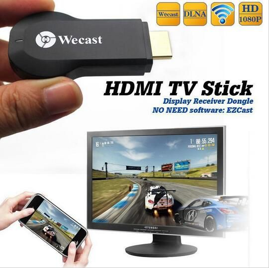 HDMI TV Stick: http://www.fromarket.com/products/miracast-wifi-display-tv-dongle-receiver-1080p-hdmi-wireless-airplay-dlna-hdtv-as-google-chromecast-digital-hd-tv-stick-media/ #WiFi #HDTV #HDMI #TvStick