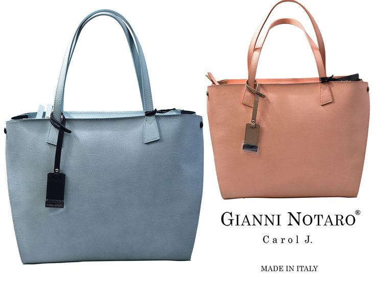 Color and pastels! Time for a accessories update with Gianni Notaro. Discover the new line in Galleria Di Scarpe.