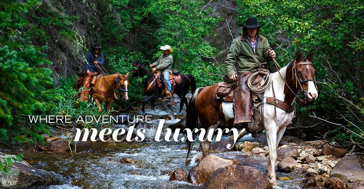 Authentic Western family guest ranch, your perfect all-inclusive Colorado vacation. Rawah Ranch is a guest ranch and Fly Fishing Lodge - come enjoy your own private luxury cabin.