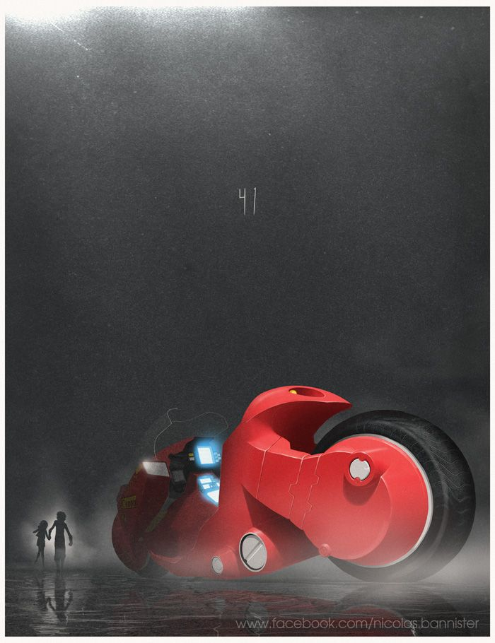 Akira by Nicolas Bannister