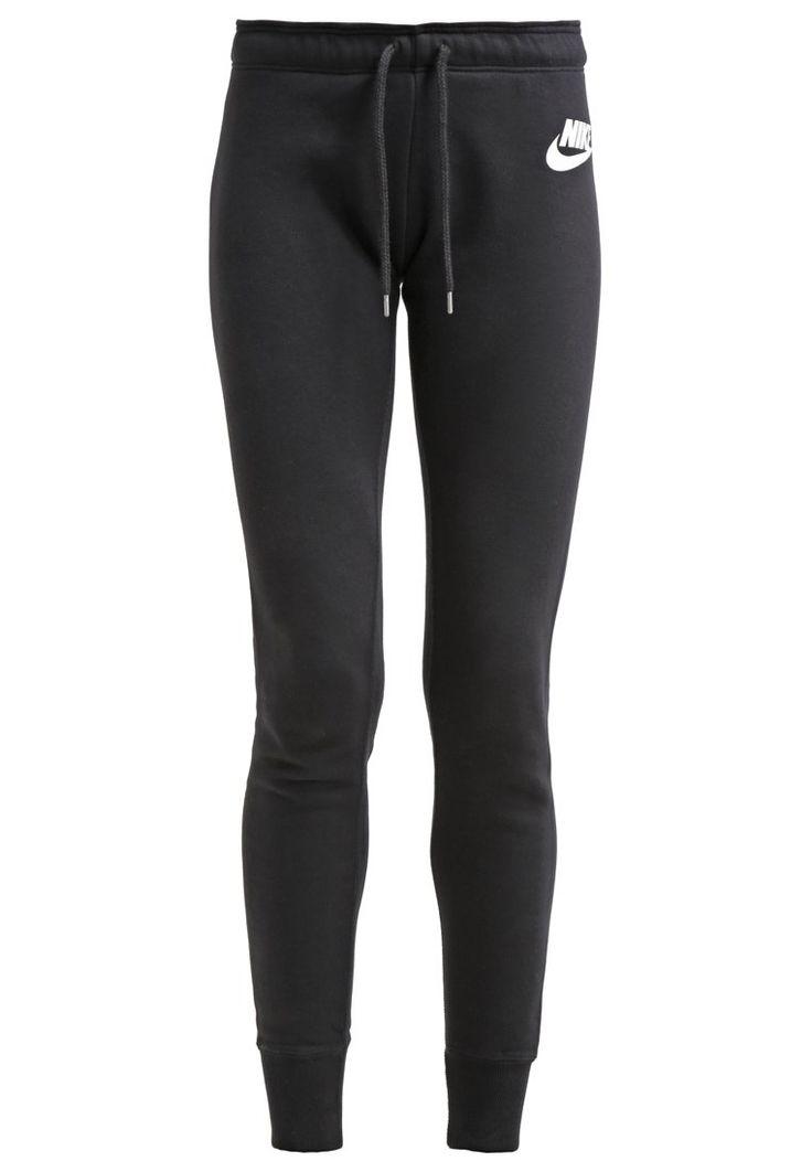 Pantalons & Leggings Nike Sportswear RALLY - Pantalon de survêtement - black/white noir: 45,00 € chez Zalando (au 03/04/16). Livraison et retours gratuits et service client gratuit au 0800 740 357.