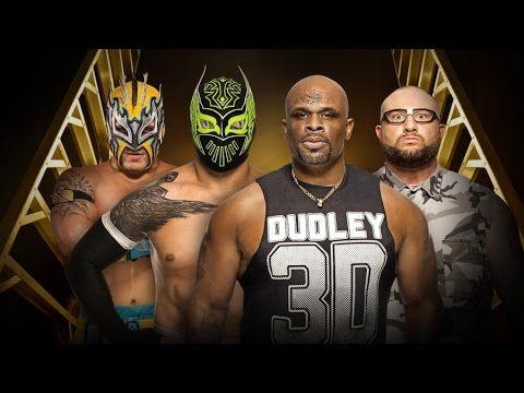 Wrestling Revolution 3D: Dudley Boyz vs. Lucha Dragons(WWE Money in the Bank 2016)