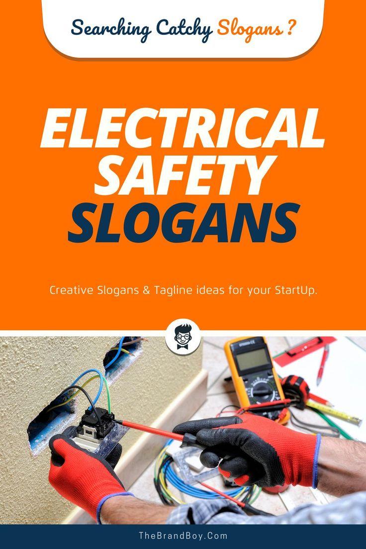 176+ Creative Slogans on Electrical Safety thebrandboy