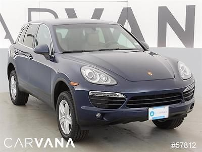 2014 Porsche Cayenne Cayenne S BLUE 2014 Cayenne with 55176 Miles for sale at Carvana