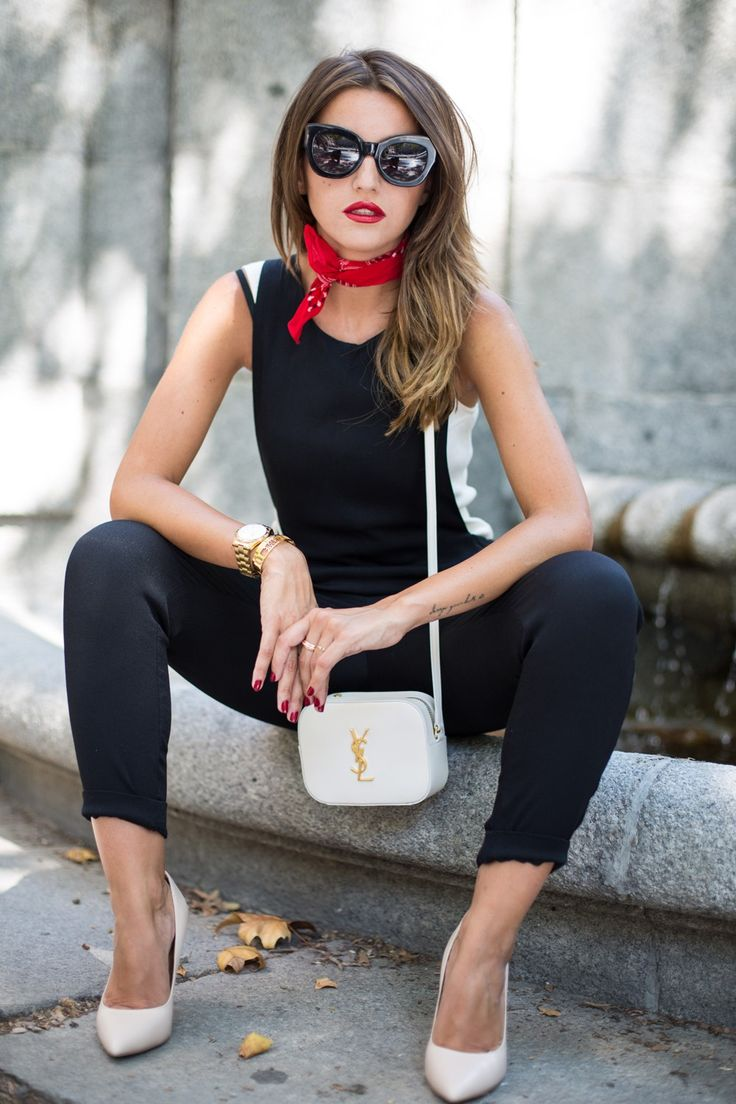 Image result for scarf outfit street style 2017