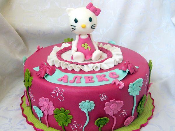 hello kity cake - Google Search
