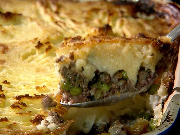 Mummy Boome's Traditional Shepherds Pie recipe from Danny Boome via Food Network - recipe Im trying to test