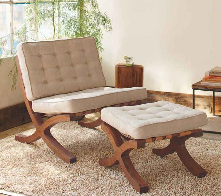 Organic Cotton Butaca Chair and Footstool - 43 Best Images About Living Room Chairs On Pinterest Chairs