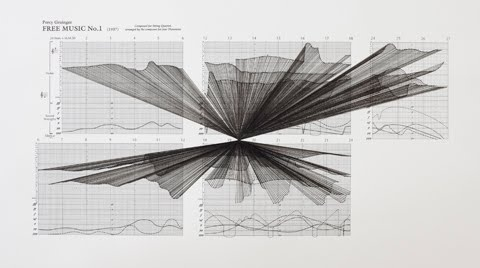 xenakis?: Drawings Black, Graphic Scores, Implosions Transforms, Avant Garde Musical, Partitions Graphiques Research, Mbi Free Music Grainger, Mass Implosions