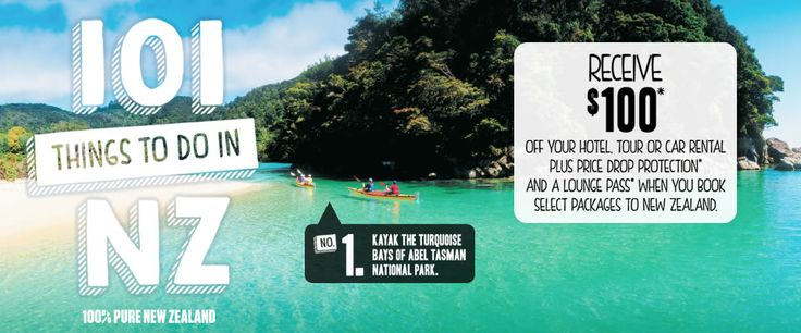 New Zealand Packages - Sept 2015