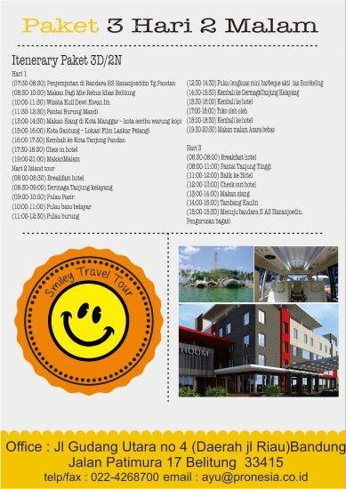 Wisata Tour Belitung 3D2N