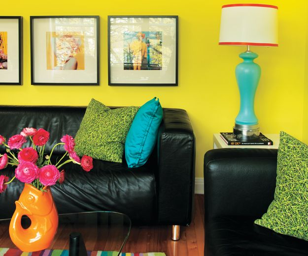 Colorful Apartment Decor Ideas. Amazing colors can speak energy to all who enter!