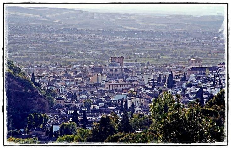 Granada desde la Abadía del Sacromonte.