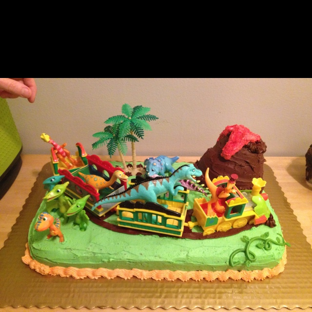Dinosaur Train Cake Images : Dinosaur Train Cake sweet tooth Pinterest Dinosaurs ...
