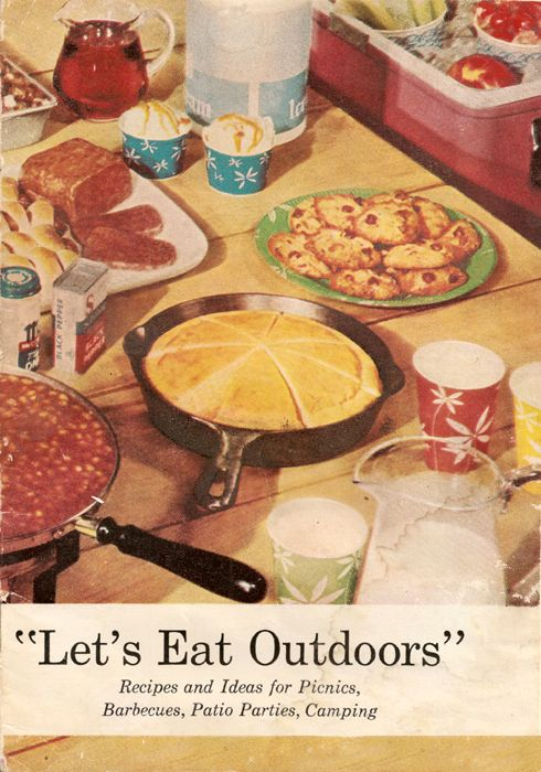 Do not miss this amazing 1950's recipe book lovingly posted online. From jellied pickle dishes to gussied up milk drinks, your 4th of July bbq will be one to remember!