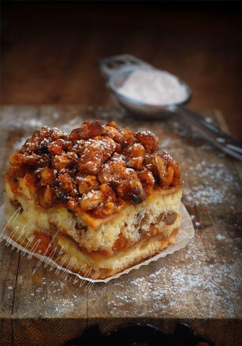 Пасхальный яблочный  торт